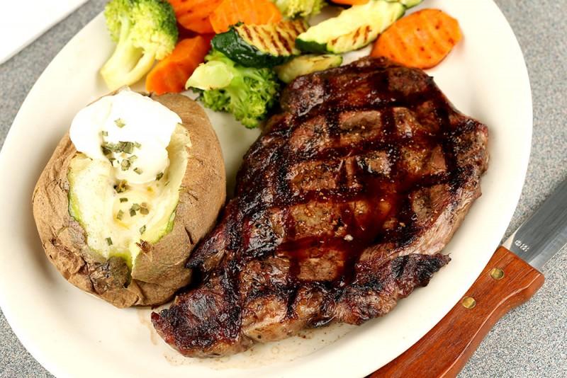 The Embers New York Steak Dinner At